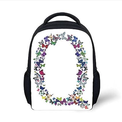 Amazon.com  iPrint Kids School Backpack Letter Q 2c7a5ee1178da