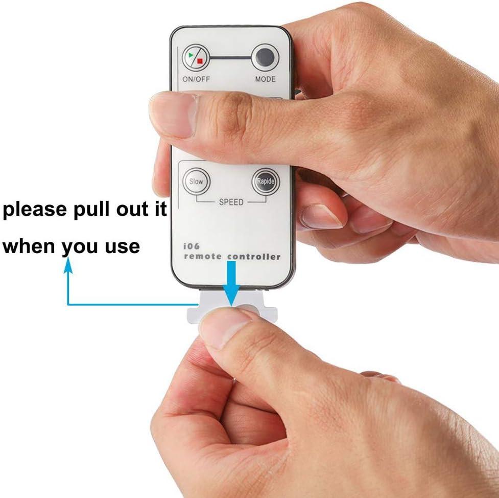 6 Tasti IR Telecomando Monocromo 5V // 12V // 24V 6A Mini Controllore per Striscia di Singolo Colore LED