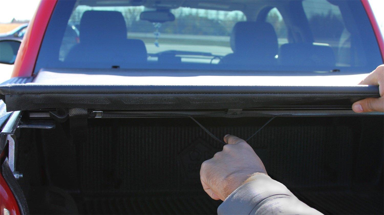 amazoncom access lorado low profile rollup tonneau cover automotive