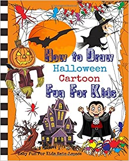 how to draw halloween cartoon learn draw and colors with funny
