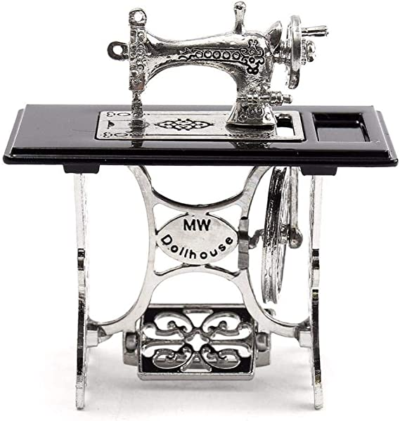 ZNYLX Escultura 1 Piezas Mini máquina de Coser Vintage casa de ...