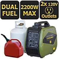 Sportsman 803044 2200 Watt Gasoline Portable Generator with Parallel Capacity