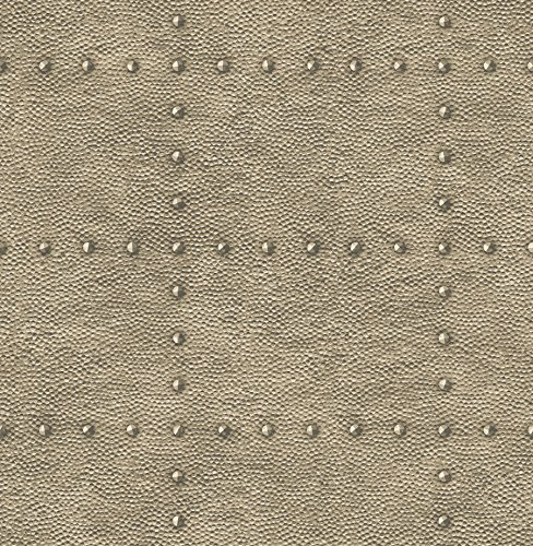 A-Street Prints 2540-24012 Otto Bronze Hammered Metal Wallpaper,