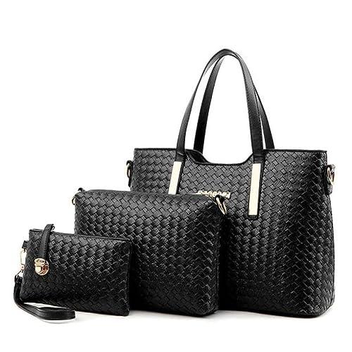a84581324d4b Amazon.com: Egmy® 2016 3PC Quality Product Women Handbag Shoulder ...