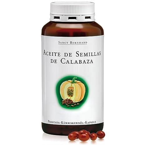para q sirve aceite de semilla de calabaza