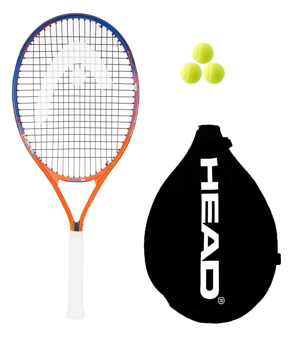 Head Radical 26 Junior Andy Murray Tennis Racket + 3 Tennis Balls