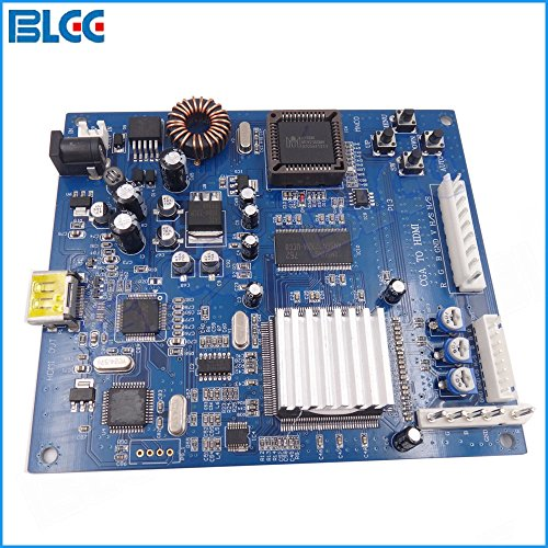 BLEE CGA to HDMI Converter Board CGA / EGA to HDMI Converting PCB for HD TV Arcade Game Cabinet Machine by BLEE