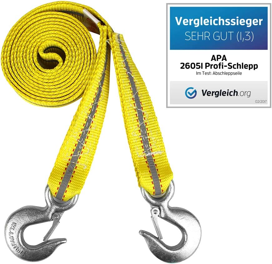 APA 26051 C/âble de remorquage Profi-Schlepp Charge maximale 6/000 kg