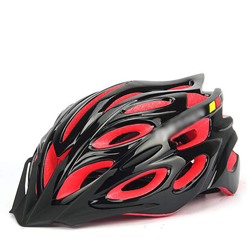 YXDDG Kinderhelme 29 belüftungsöffnungen Kinder Helm für Skateboard Roller Skating fahrradhelm Fahrrad Sicherheit-Rot 53-56cm(21-22inch)