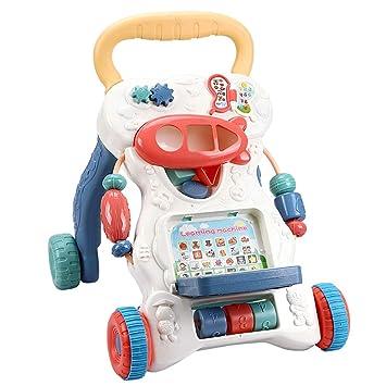 YZT QUEEN Correpasillos bebé, Andador 2 en 1, máquina de ...