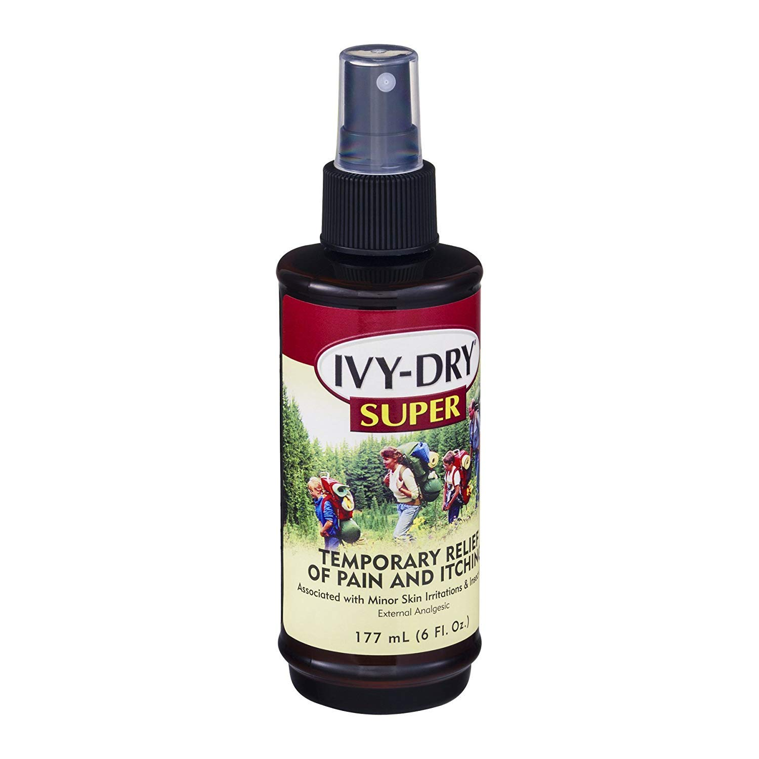 Ivy-Dry Super Itch Relief Spray - 6 oz, Pack of 3