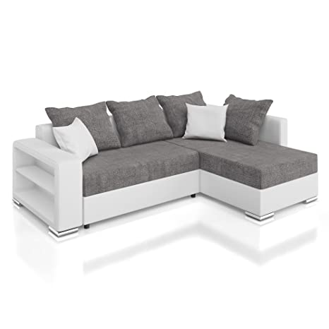 Vicco Sofa Couch Polsterecke Houston Ecksofa Schlaffunktion