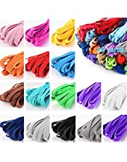 Color Elastic Bands for Sewing, Elastic String for Masks, Wigs, Bedspread, Skirt, Waistband, DIY Projects(12 Yard)