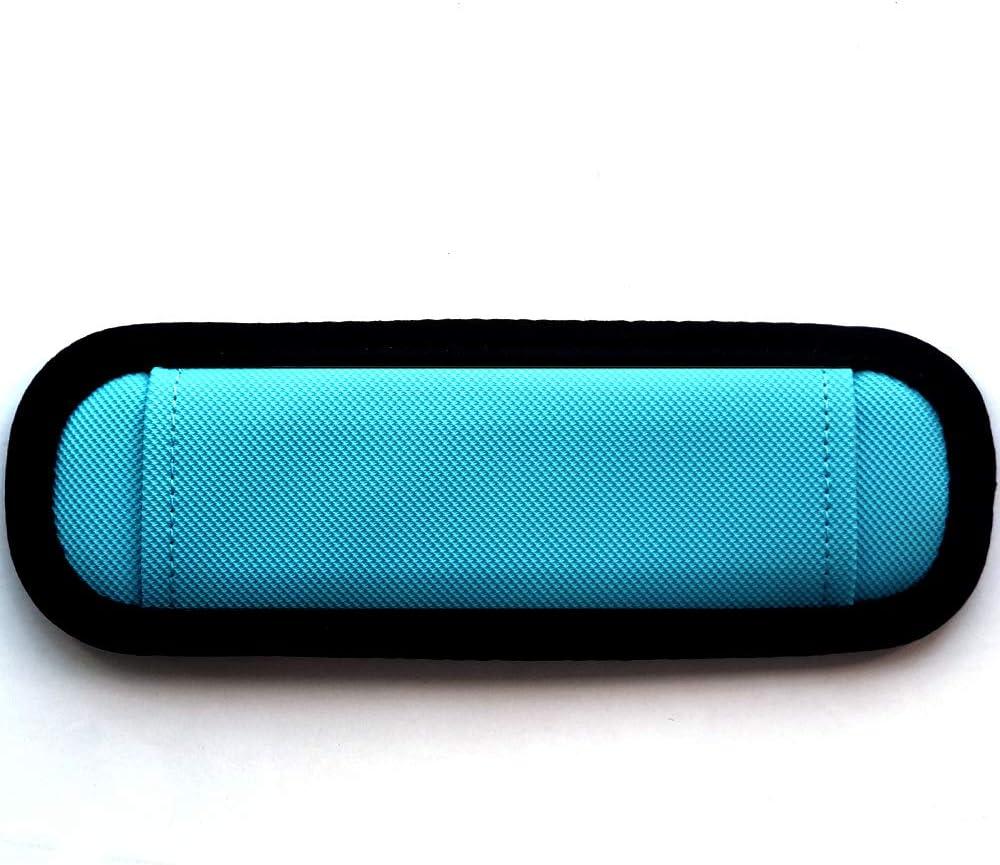 Mint Blue Burnoaa Straight Design Memory Foam Soft Shoulder Saver Pad