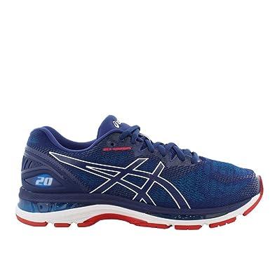 ASICS Gel Nimbus 20 Men's Running Shoe, Blue PrintRace Blue, 13 D(M) US