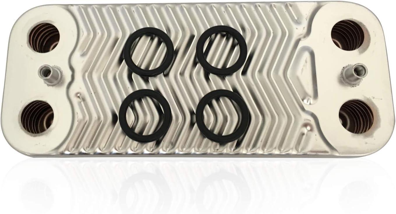 BI1001102 FITS to Garda,Riva Compact,Savio BIASI Plate Heat Exchanger Part NO