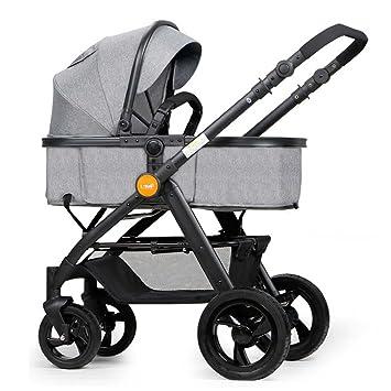 Sillas de paseo ERRU- Plegado de la carretilla del bebé/de dos vías ligeramente