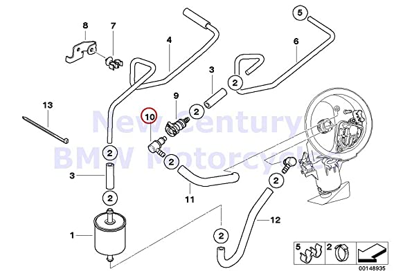 Amazon Com Bmw Genuine Motorcycle Quick Release Coupling 90 Degree