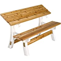 Deals on Hopkins 2x4basics 90110ONLMI 90110 Flip Top Bench Table