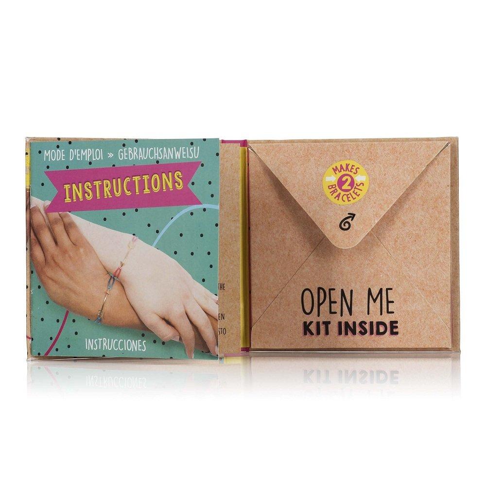 NPW-USA DIY Bestie Friendship Bracelet Making Kit Inc NP26320