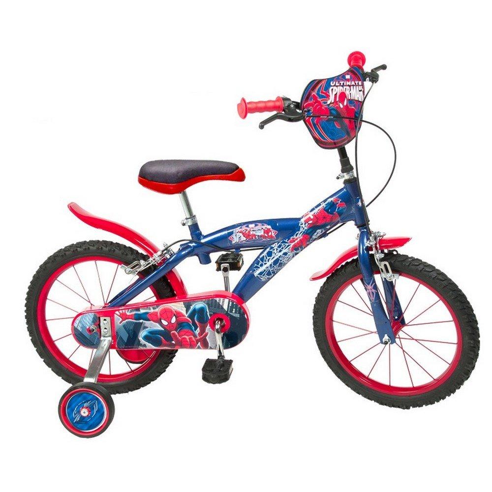Vélo pour Enfant Spiderman Garçon 16 pouces 5 à 8 ans B0129EGE1I