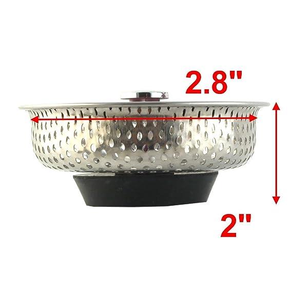Amazon.com: ZealMax Baño de Acero inoxidable Fregadero de ...
