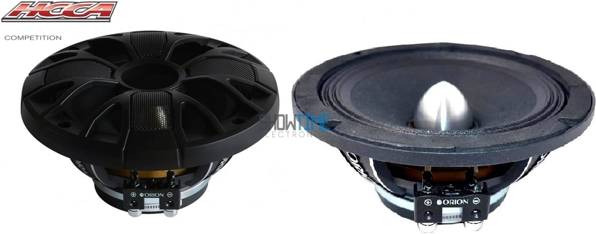 New Pair Of Orion Hcca64N 1400 Watt 4-Ohm Loud Car Audio High Efficiency Mid-Range Speakers