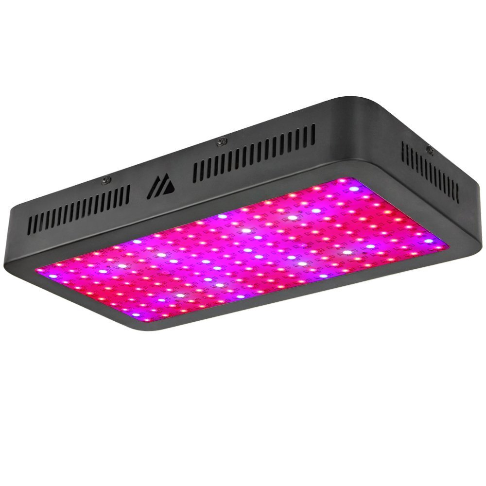 1500W LED Grow Light, Dimgogo Triple Chips Full Spectrum Grow Lamp with UV&IR for Greenhouse Hydroponic Indoor Plants Veg and Flower All Phases of Plant Growth (10W Leds)