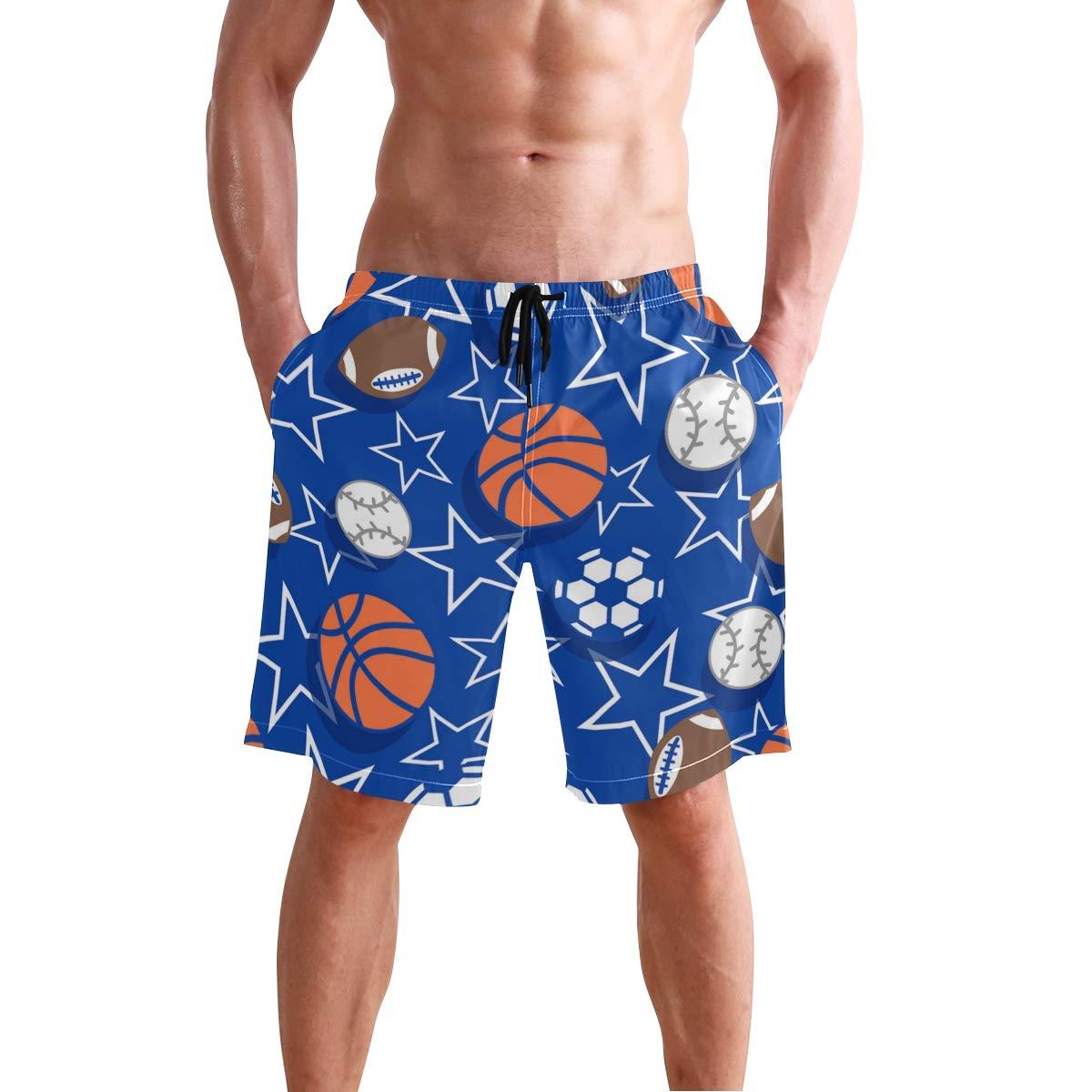 COVASA Mens Summer ShortsSport