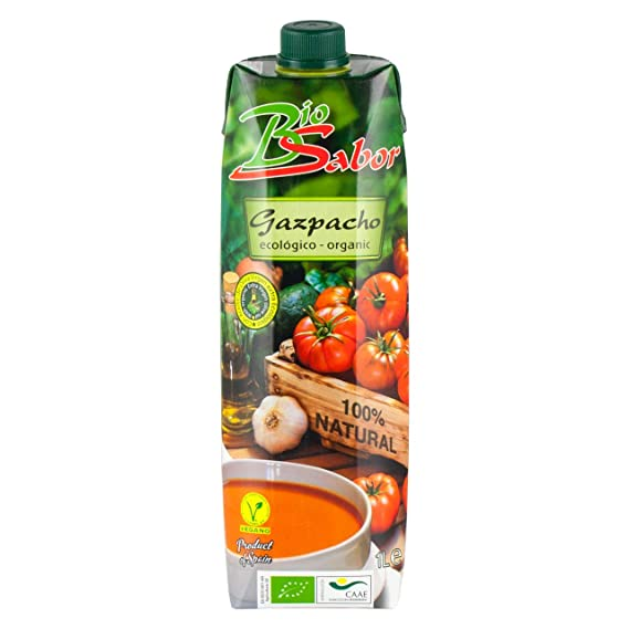 Bio Sabor - Gazpacho with Extra Virgin Olive Oil - 1L