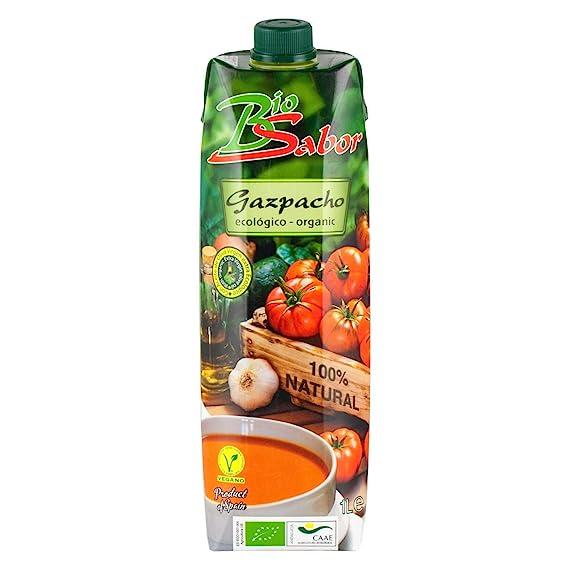 Bio Sabor - Gazpacho with Extra Virgin Olive Oil - 1L