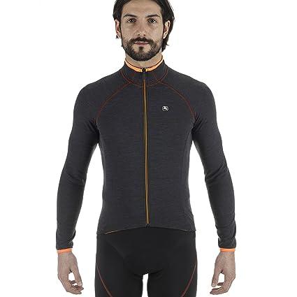 Amazon.com   Giordana 2017 18 Men s Sosta Wool Long Sleeve Cycling ... 4bf3f6f84