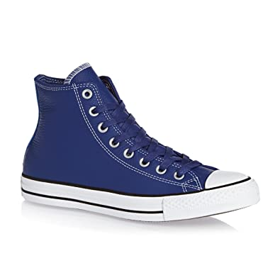 6f0dcd853685 Converse Unisex Chuck Taylor All Star Hi Roadtrip Blue Casino White  Basketball Shoe 9