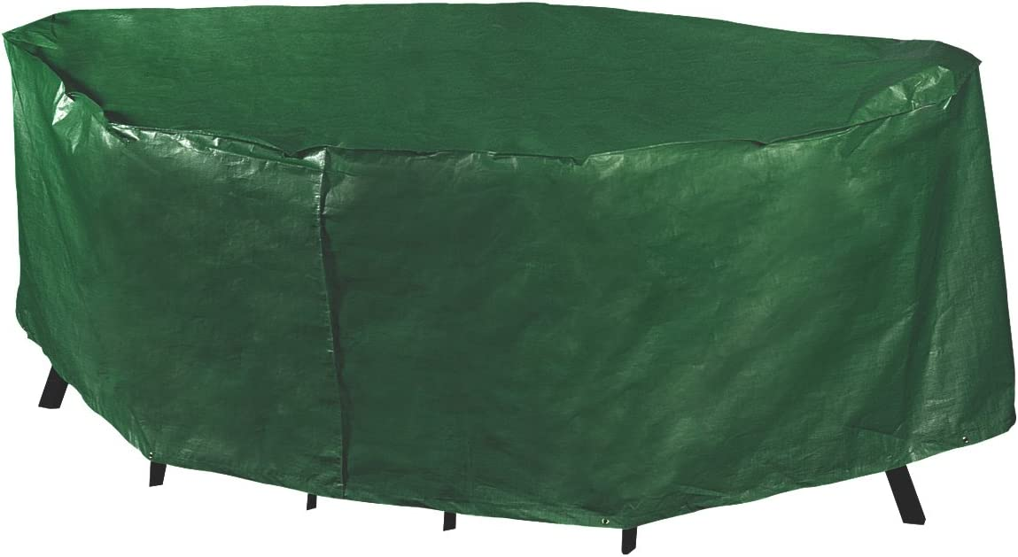 Bosmere Weatherproof Rectangular Patio Set Cover, 106 , Green