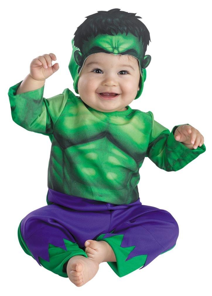 Amazon.com: The Hulk bebé Infant Costume – bebé 12 – 18 ...