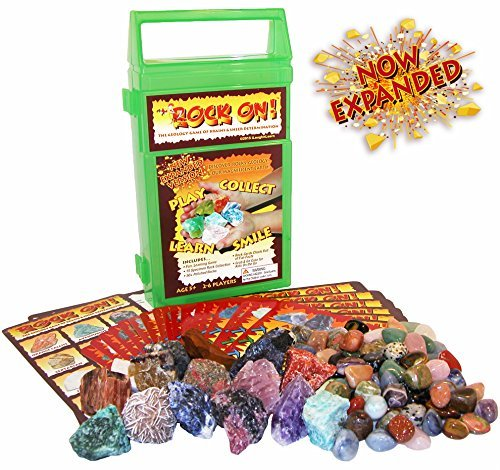 ROCK ON! Geology NOW Game Mineral with Rock B01K1X6DFG & Mineral Collection Kit - NOW EXPANDED [並行輸入品] B01K1X6DFG, 防水防ダニ寝具専門店しろくまケア:e0e6dd51 --- publishingfarm.com