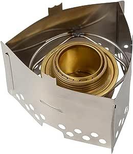 Trangia - Hornillo de Gas para Camping, diseño Triangular, Color Plateado