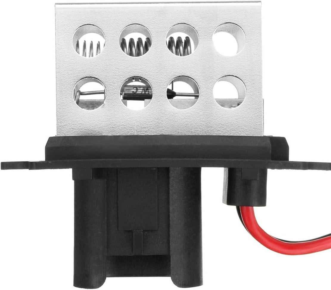 Gaoominy Resistencia del Calentador del Motor del Ventilador del Soplador del Coche 5Pins 7701034875 27100-00Qac para Clio Mk1 Y Kangoo 7701034875