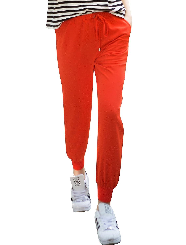 Veri Gude Women's Soft Sweatpants Elastic Waist with Drawstring