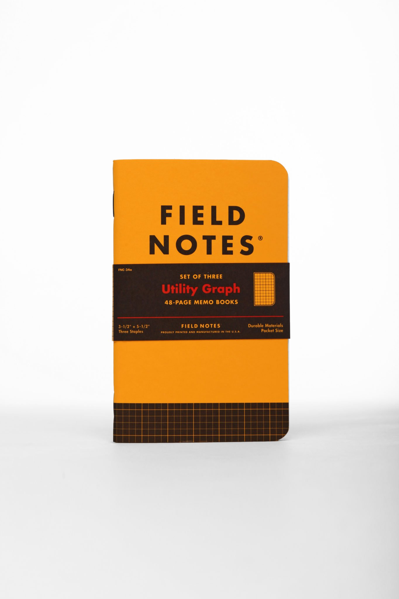 Field Notes Utility Special Edition Engineer Graph Memo Books, 3-Pack (3.5x5.5-Inch) Spring 2017