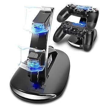 Pyrus Cargador del regulador de Playstation 3, Cargador Dual ...