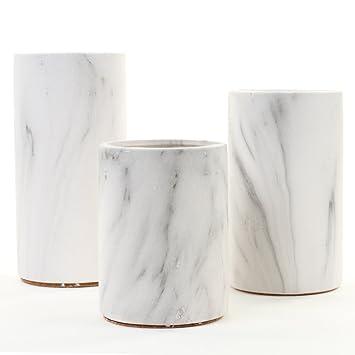 Amazoncom Koyal Wholesale Marble Decor Black White Marble Effect