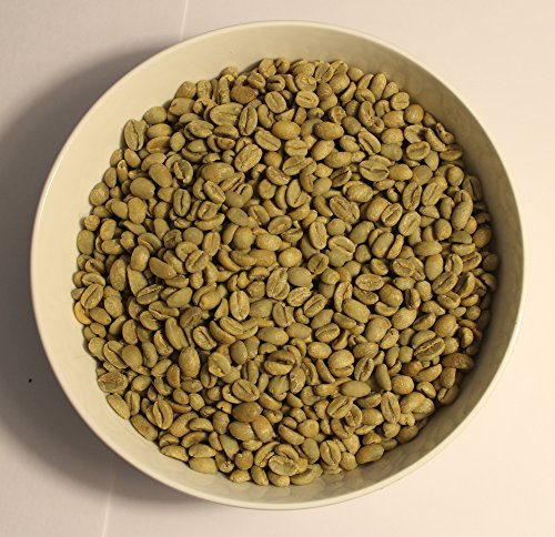 Ethiopia Hambela Estate, Bishan Fugu Lot - Certified Organic Grade 1 - Green (Unroasted) Coffee Beans (3 Pounds)