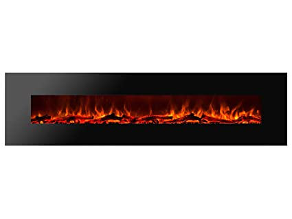 Amazon Com Ignis Royal 95 Inch Wall Mount Electric Fireplace With