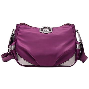 ea3f9f8b8268c Leichte Umhängetasche Damen Nylon-Handtaschen Einzigen Diagonalen  Umhängetasche Sporttasche