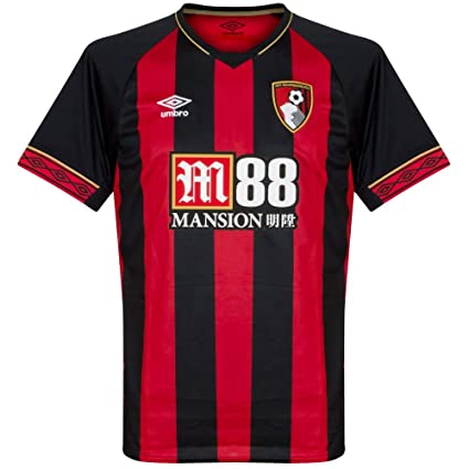 5d28c8b83 Amazon.com   Umbro 2018-2019 Bournemouth Home Football Soccer T-Shirt Jersey    Sports   Outdoors