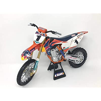 "New Ray Toys 1:6 Scale Offroad Racer Die-Cast Replica Red Bull KTM Ryan Dungey ""Championship Edition"" 49623: Toys & Games"