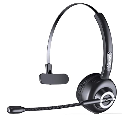 cc13ab1081e Amazon.com  CISNO Bluetooth Headset with Mic
