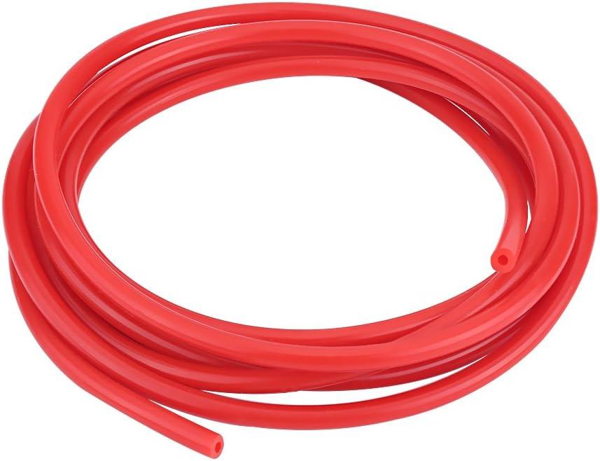 Universal Car 5 Metros de Silicona Tubo de Vac/ío Tubo de Manguera de Silicona Rojo Di/ámetro Interno de 4mm Tubo de Vac/ío de Silicona -60 ~ 260 ℃ Manguera de Vac/ío de Silicona de 4 Mm