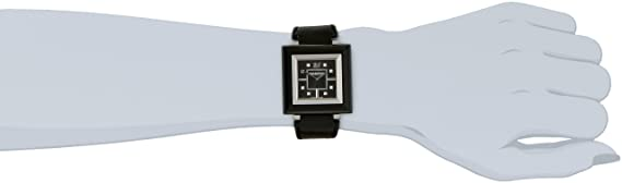 Amazon.com: Swarovski Womens Quartz Watch RocknLight 1078894 with Leather Strap: Watches